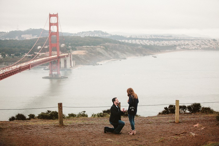 San Francisco Marriage Proposal Ideas