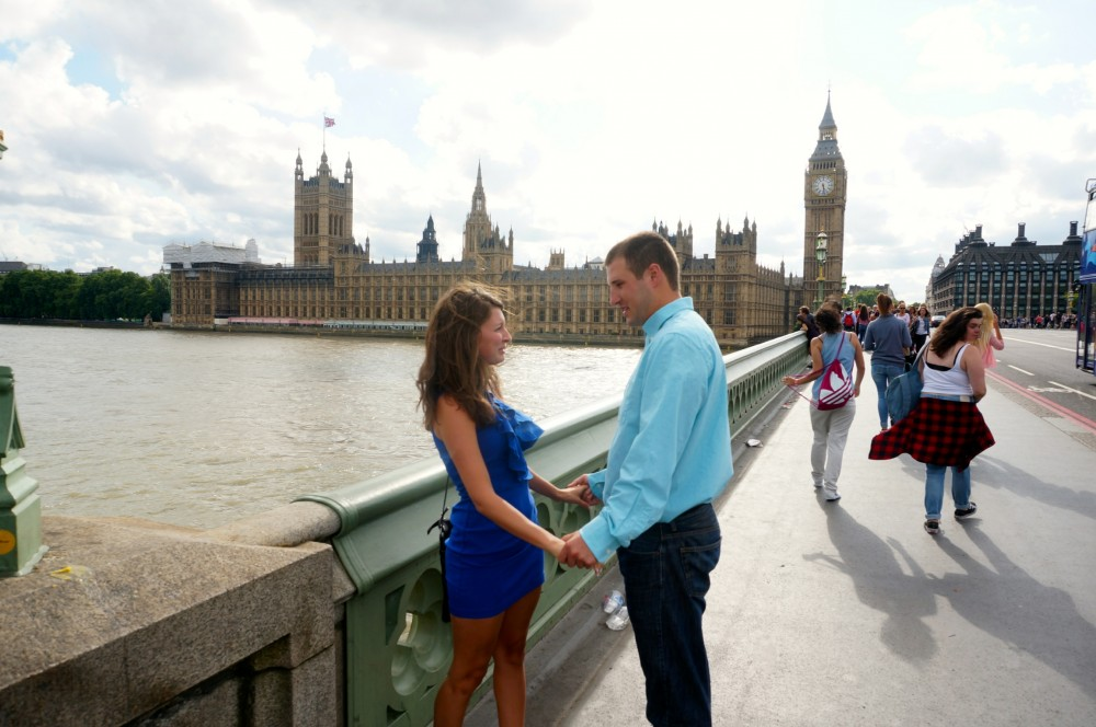 Image 1 of Brittany and Ben's London Proposal