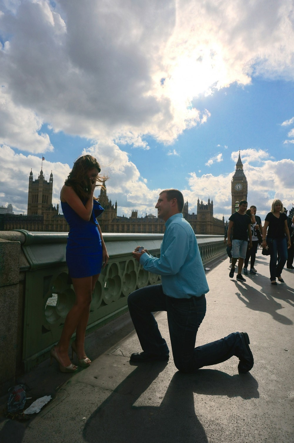 Image 3 of Brittany and Ben's London Proposal