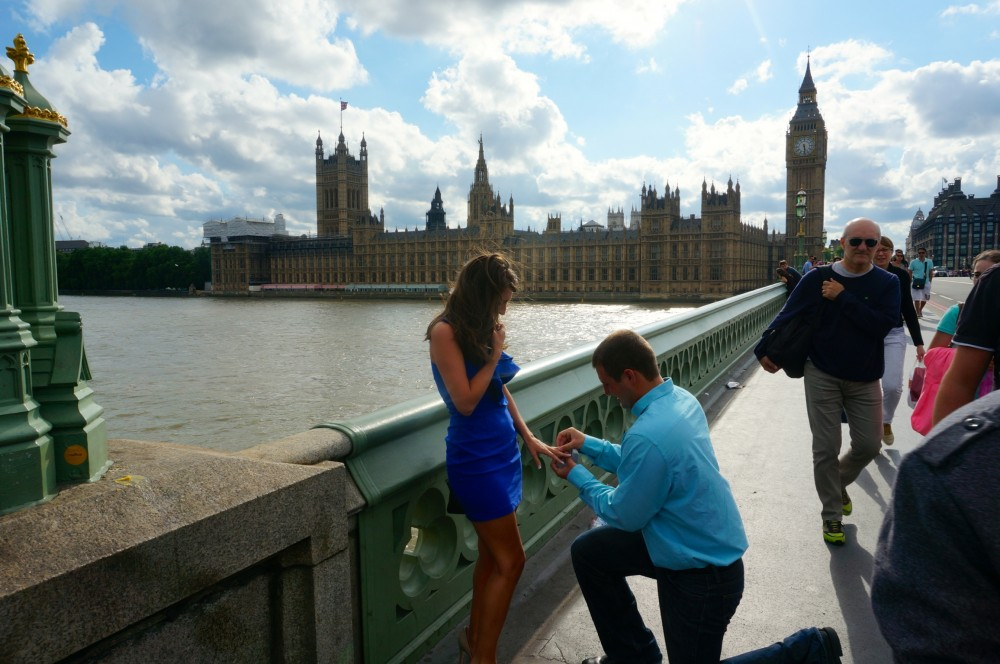 Image 4 of Brittany and Ben's London Proposal