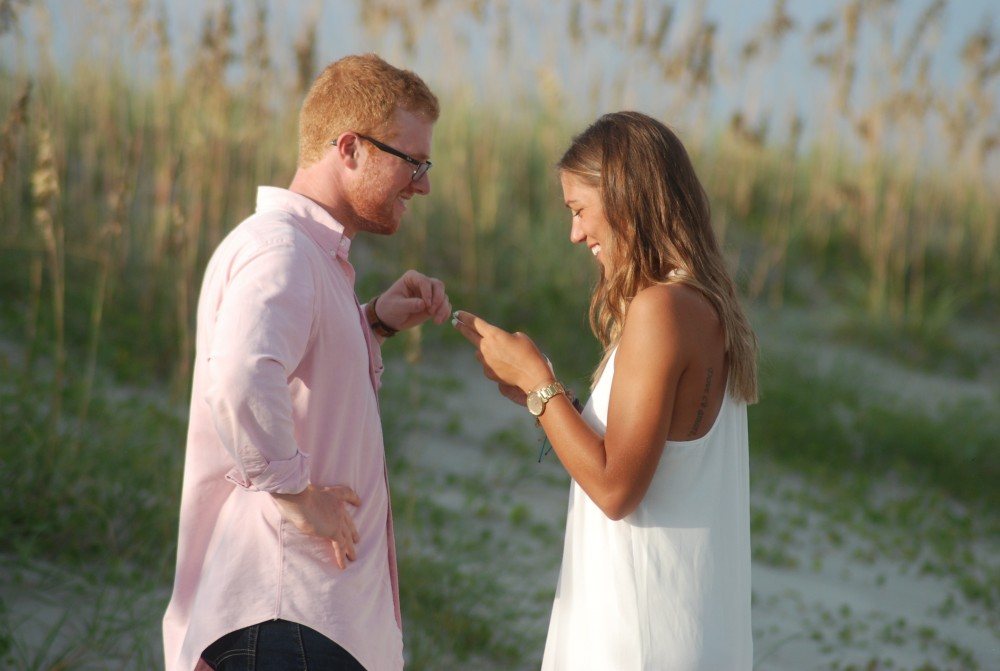 Image 3 of Cady and Adam's Treasure Chest Proposal