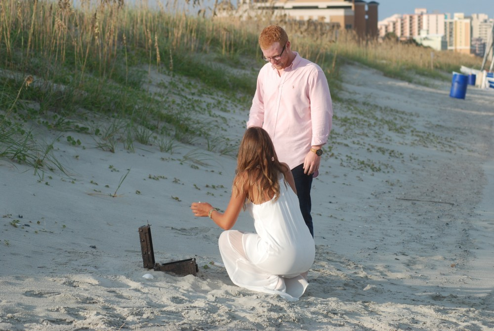 Image 5 of Cady and Adam's Treasure Chest Proposal