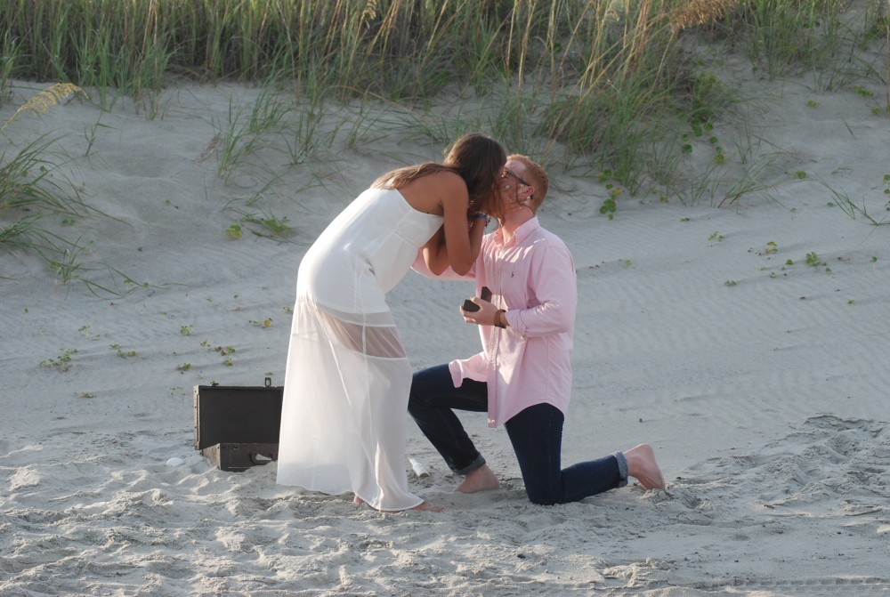 Image 2 of Cady and Adam's Treasure Chest Proposal