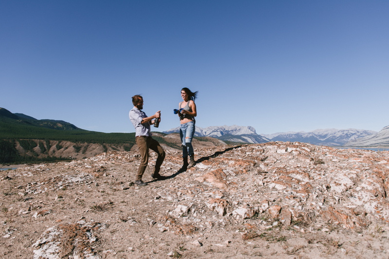 Image 4 of Kaihla and Mark | Beautiful Mountaintop Proposal