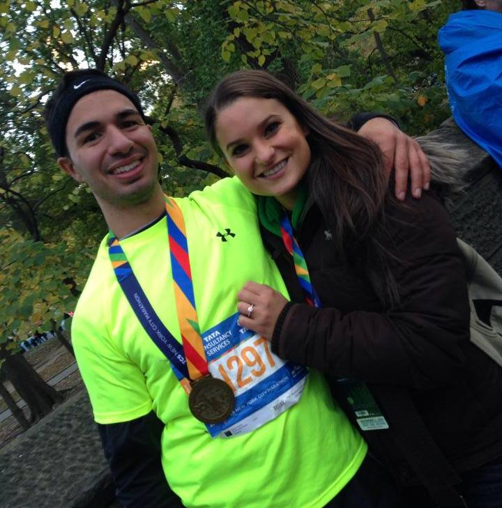 Image 2 of Tina and Freddie   New York City Marathon Proposal