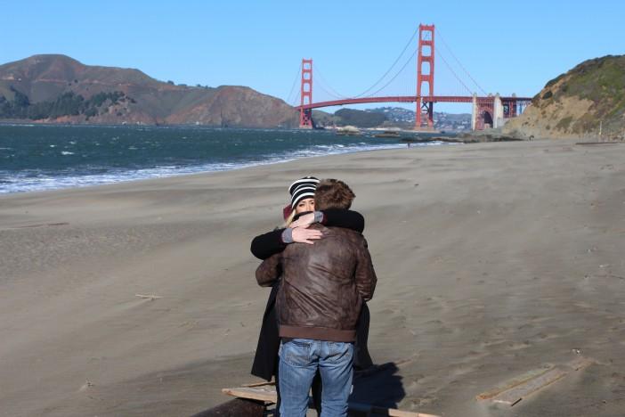 Baker Beach Marriage Proposal