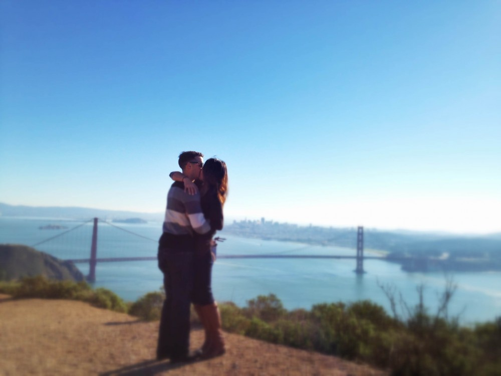 Image 4 of Angelique and Jordan's Proposal at the Golden Gate Bridge