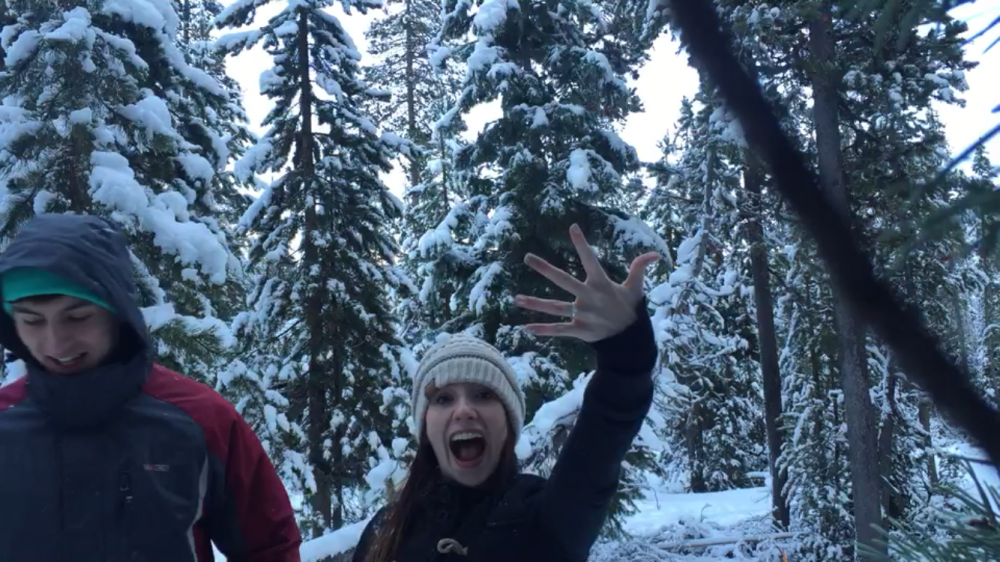 Image 5 of Katelynn and Christopher's Snowy Proposal