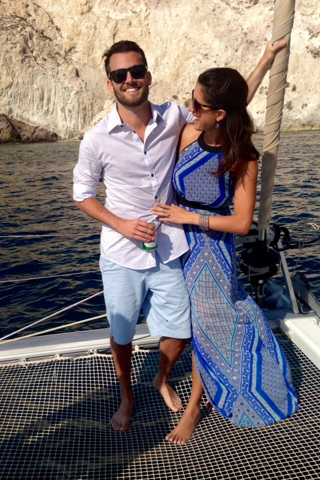 Image 1 of Jenna and Eric's Proposal in Greece