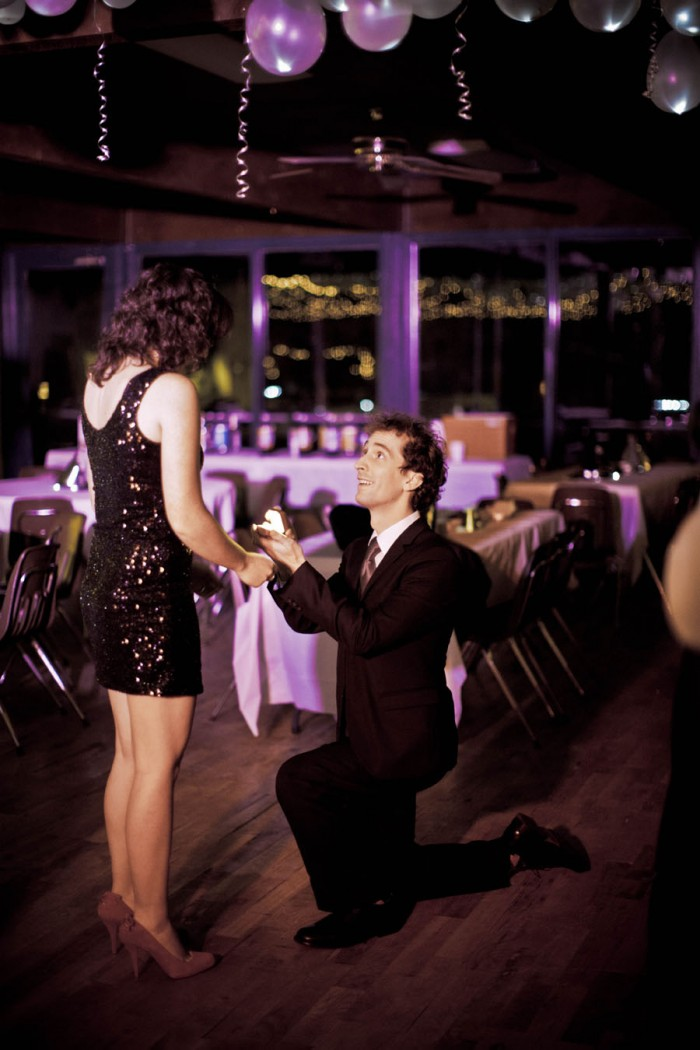 New Year's Eve holiday proposal stories
