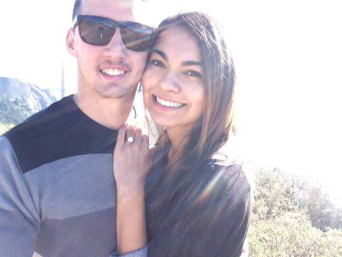 Image 1 of Angelique and Jordan's Proposal at the Golden Gate Bridge