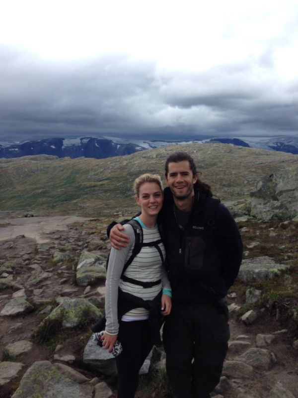 Image 1 of Kourtney and Connor's Breathtaking Proposal in Norway