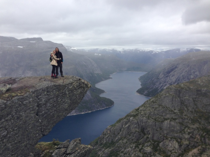 Image 5 of Kourtney and Connor's Breathtaking Proposal in Norway