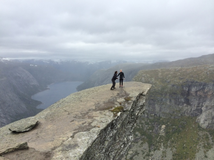Image 3 of Kourtney and Connor's Breathtaking Proposal in Norway