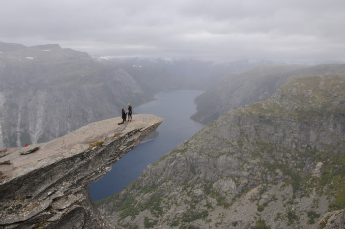 Image 4 of Kourtney and Connor's Breathtaking Proposal in Norway