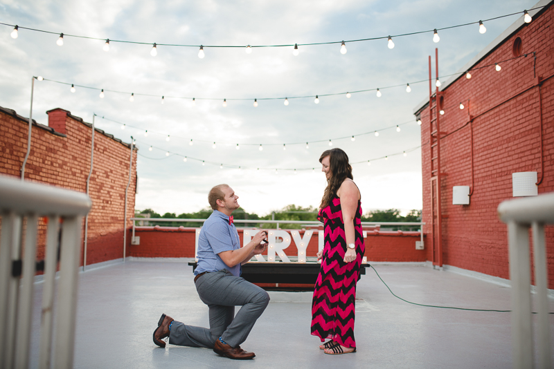 Image 7 of Cody & Ashliegh's Rooftop Proposal