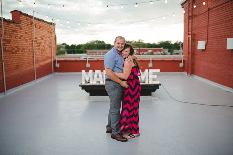 Image 2 of Cody & Ashliegh's Rooftop Proposal