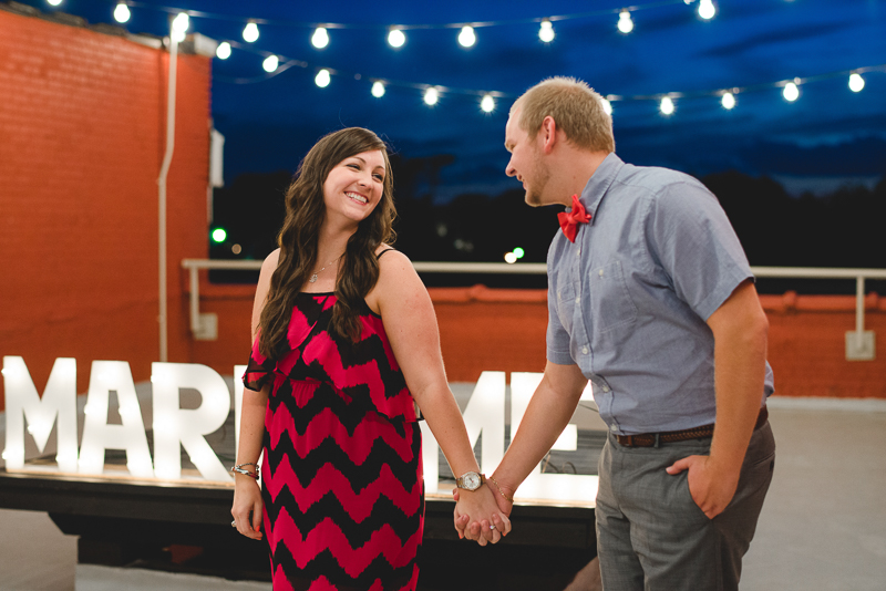 Image 10 of Cody & Ashliegh's Rooftop Proposal