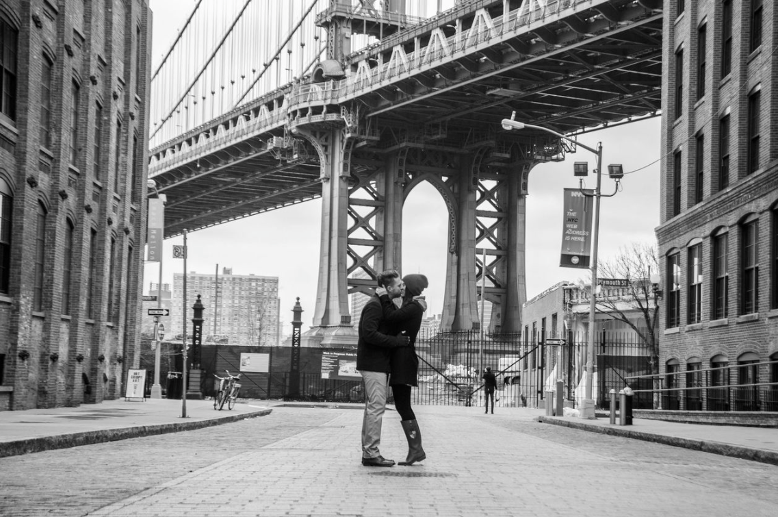 Image 1 of Marcy and Kyle's DUMBO Proposal