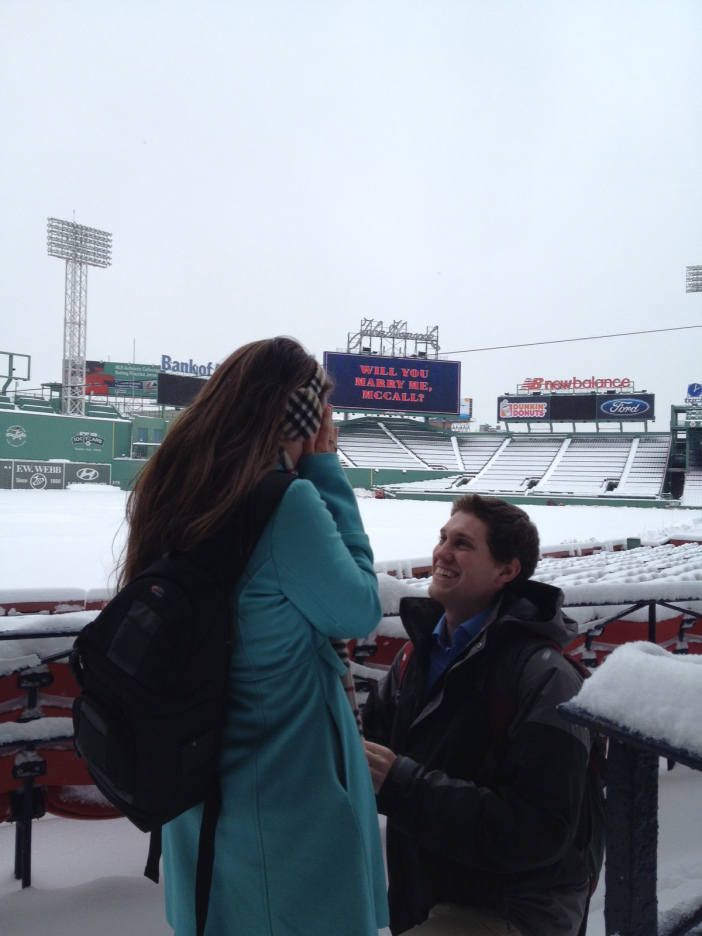 Snow Proposal at Fenway Park