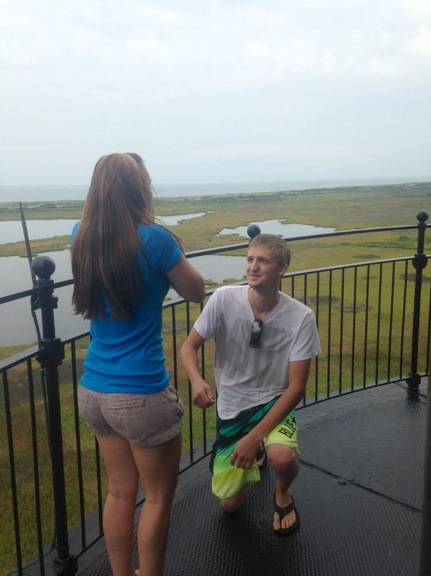 Image 6 of Nicole and Alex's Lighthouse Proposal