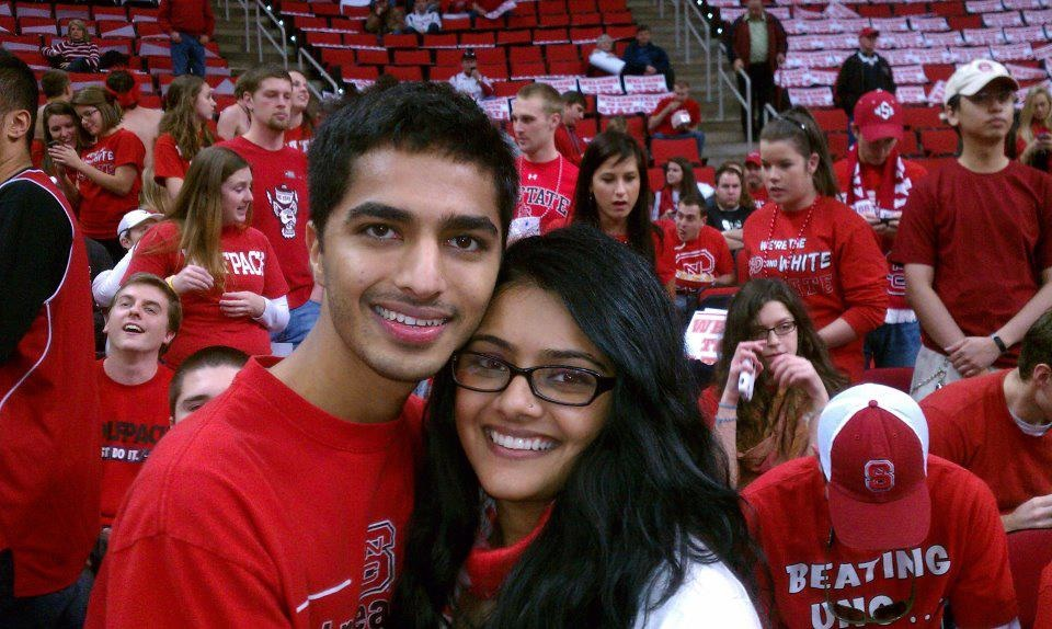 Image 1 of Avani and Hersh's Proposal at NC State