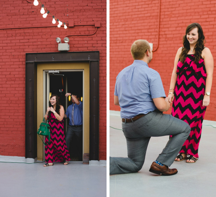Image 5 of Cody & Ashliegh's Rooftop Proposal