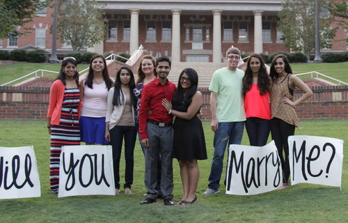 Image 2 of Avani and Hersh's Proposal at NC State