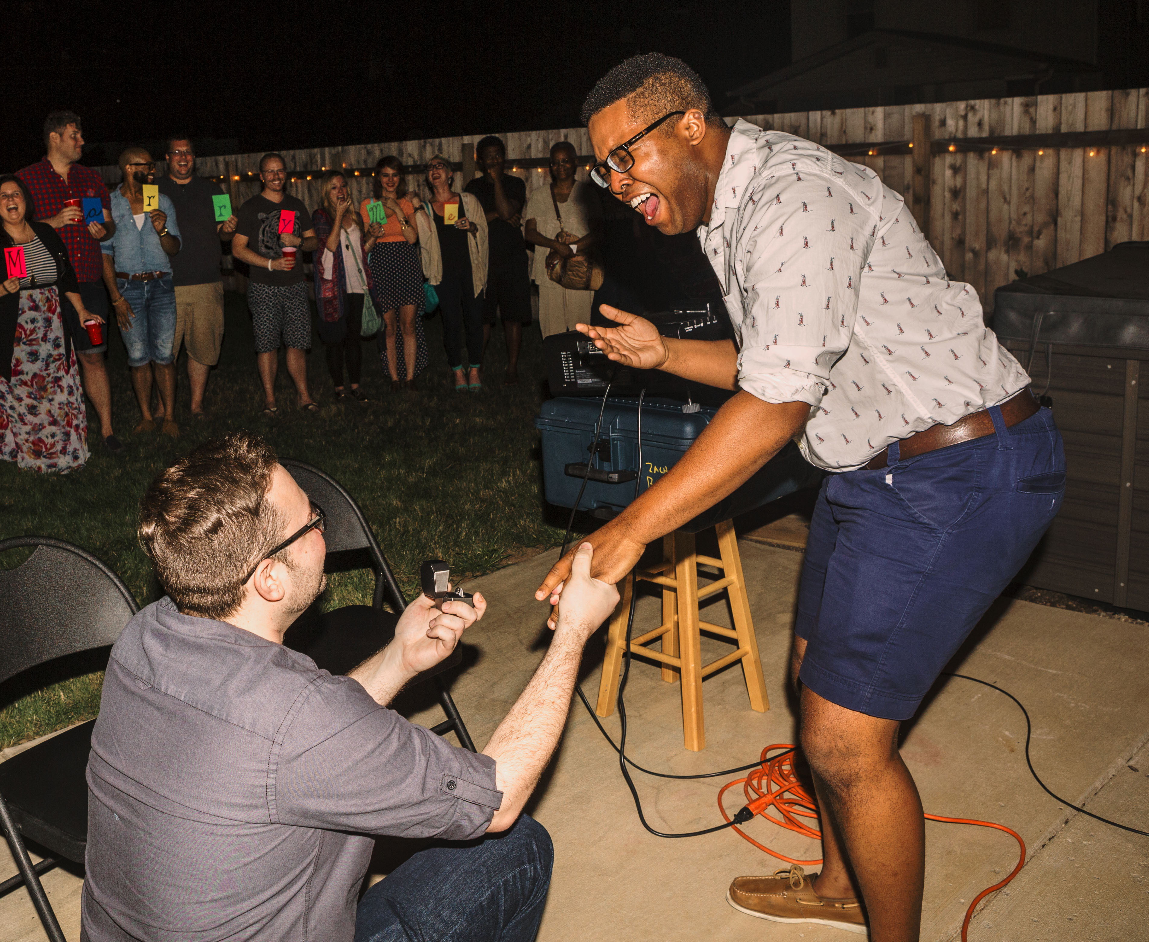 Image 6 of TJ and Matt's Surprise Gay Marriage Proposal