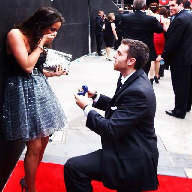 Image 2 of Cassandra and Derek: Marriage Proposal at the Grammys
