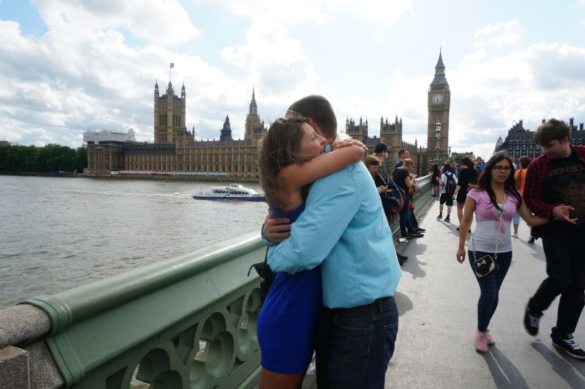 Image 5 of Brittany and Ben's London Proposal