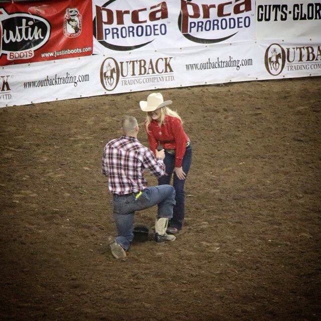 Image 2 of Proposal at the Rodeo