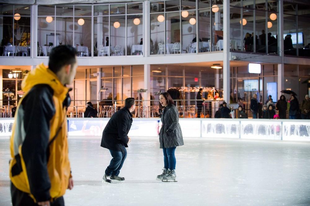 Image 3 of Brittney and Derek's Ice Rink Proposal