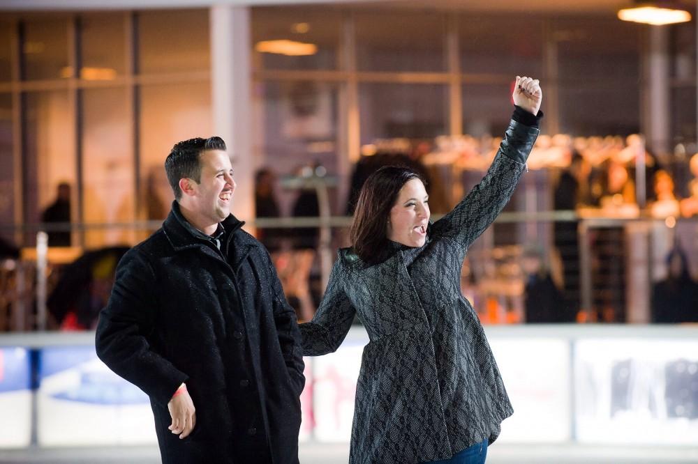 Image 5 of Brittney and Derek's Ice Rink Proposal