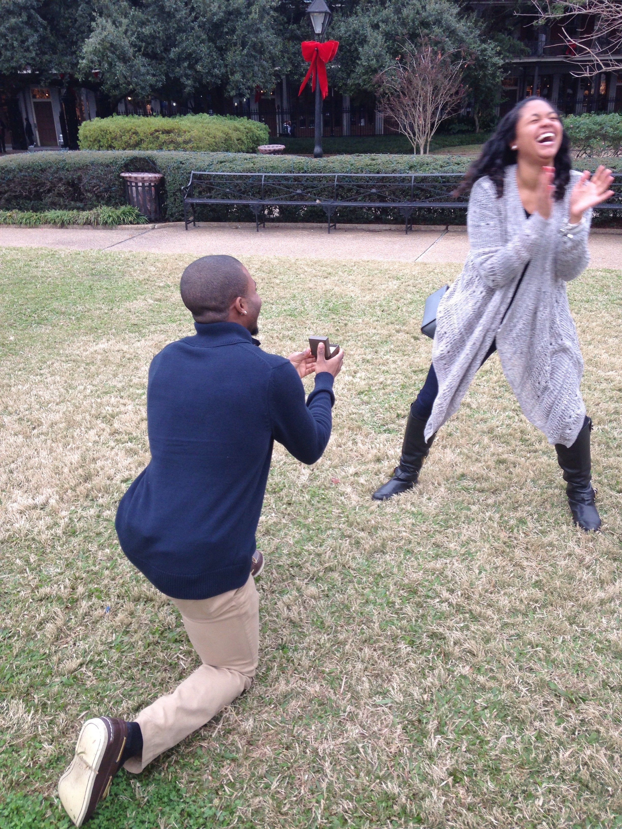 Wedding Proposal Ideas in New orleans louisiana