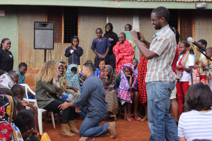 Image 5 of Athalie and Justin's Marriage Proposal in Kenya