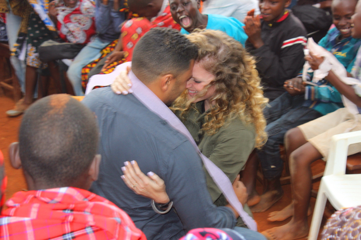 Image 4 of Athalie and Justin's Marriage Proposal in Kenya