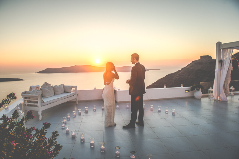 Janelle and Ben's Incredible Proposal in Santorini-2