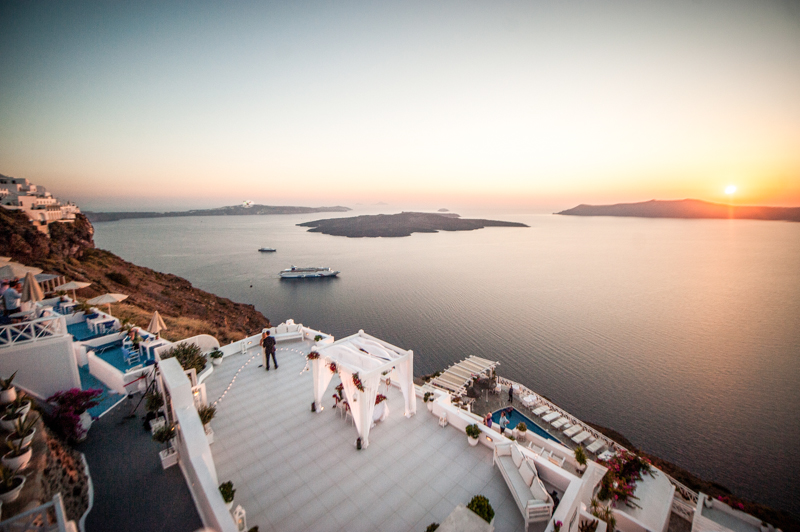 Marriage Proposal Ideas in Santorini Greece