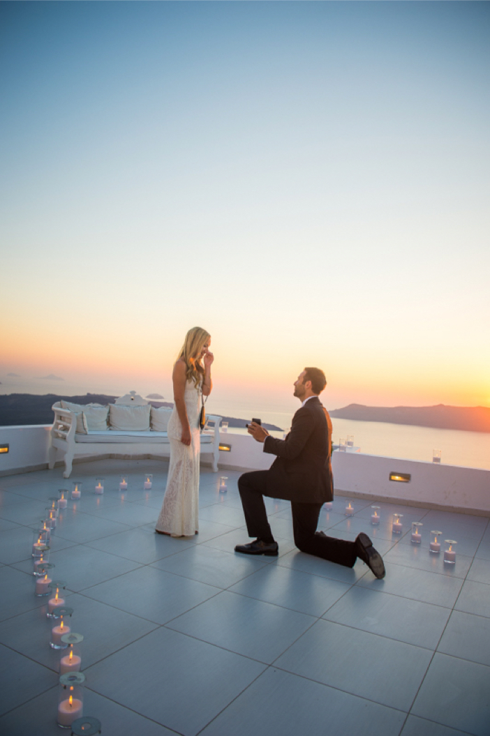 Image 13 of He Pulled Off an Elaborate Surprise Proposal in Greece