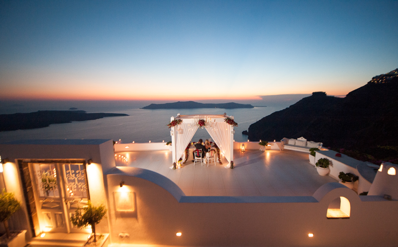 Image 1 of He Pulled Off an Elaborate Surprise Proposal in Greece