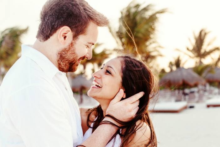 Beach Marriage Proposal in Playa Del Carmen Mexico_1
