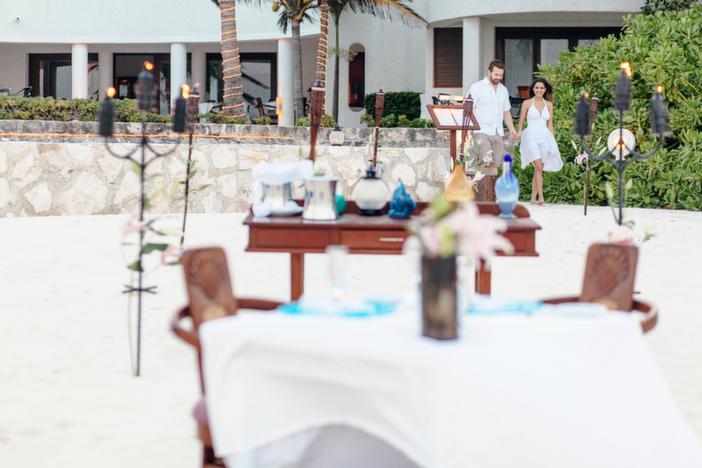 Beach Marriage Proposal in Playa del Carmen Mexico_3
