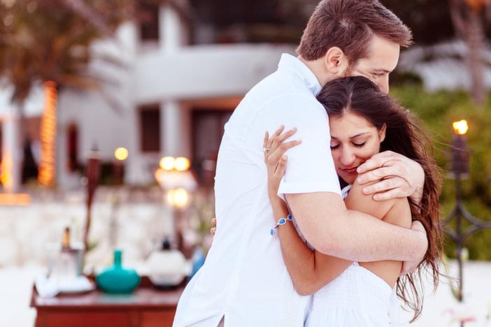 Image 3 of Christina and Wade's Beautiful Proposal in Playa del Carmen