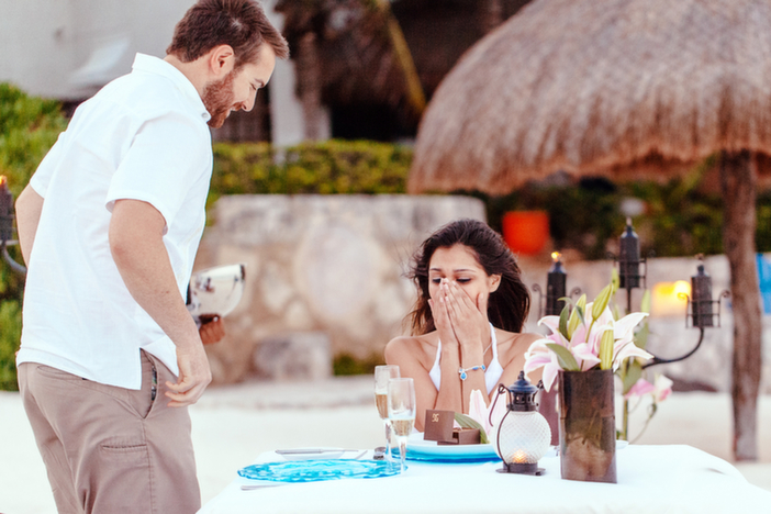 Image 7 of Christina and Wade's Beautiful Proposal in Playa del Carmen