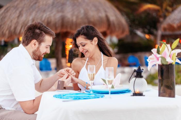 Image 2 of Christina and Wade's Beautiful Proposal in Playa del Carmen