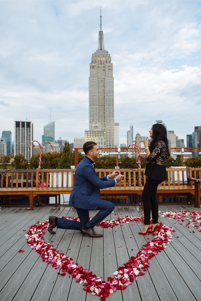 Image 4 of Danielle and Adam's Proposal in New York City