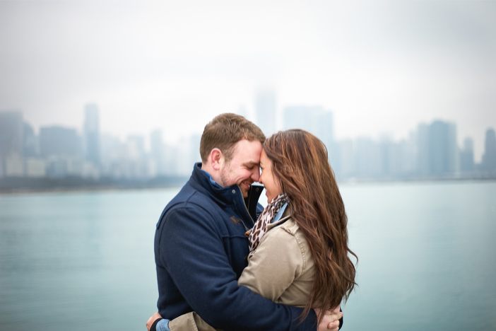 Image 2 of Steve and Brittany's Proposal in Chicago