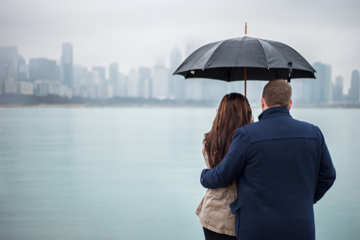 Image 3 of Steve and Brittany's Proposal in Chicago