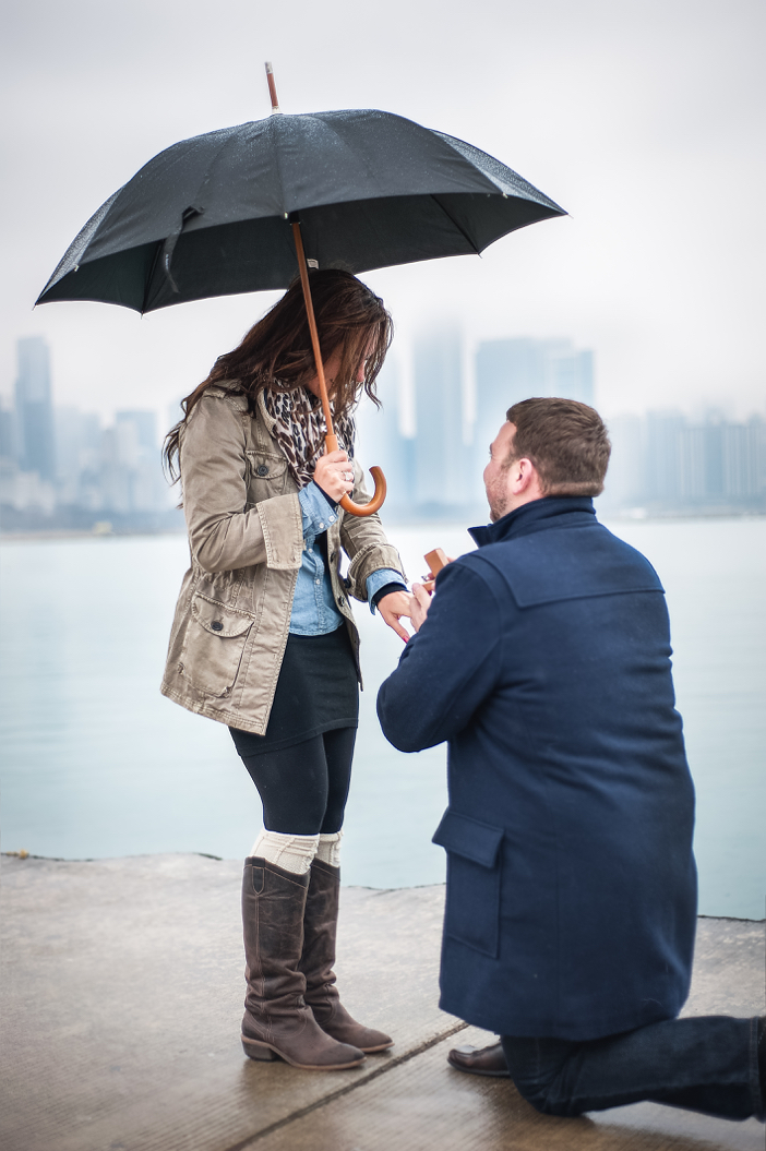 Image 6 of Steve and Brittany's Proposal in Chicago